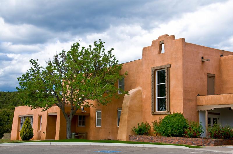 Immaculate Heart of Mary Retreat Center, Santa Fe, New Mexico.