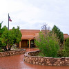 Visitor Center - Pecos Historical National Park, Pecos, New Mexico.