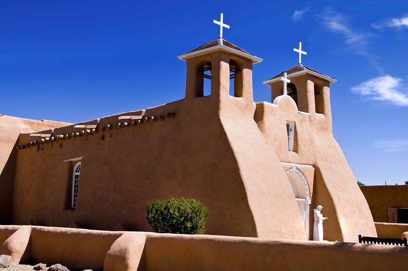 Mission San Francisco de Asis - Taos, New Mexico.