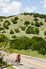 Cyclist on New Mexico State Highway 220 south of Fort Stanton -0183 - 72 ppi