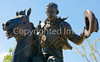 Cattle baron John Chisum statue in Roswell, NM - -0056 - 72 ppi