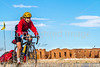 Cyclist at Fort Union National Monument, NM - D4-C1-0289 - 72 ppi-2