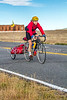 Cyclist at Fort Union National Monument, NM - D4-C1-0260 - 72 ppi