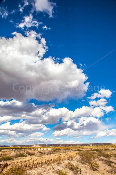 New Mexico - Fort Craig Nat'l Historic Site, south of Socorro - D6-C3-0256 - 72 ppi