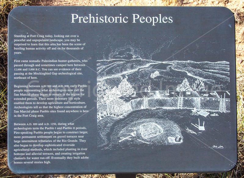 New Mexico - Fort Craig Nat'l Historic Site, south of Socorro - D6-C3-0303 - 72 ppi