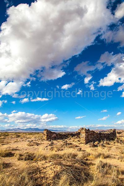 New Mexico - Fort Craig Nat'l Historic Site, south of Socorro - D6-C3-0299 - 72 ppi