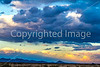 New Mexico - Sunset over mountains south of Socorro near Fort Craig - D6-C1-0095 - 72 ppi