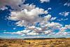 New Mexico - Cyclist at Fort Craig Nat'l Historic Site, south of Socorro - D6-C3-0271 - 72 ppi