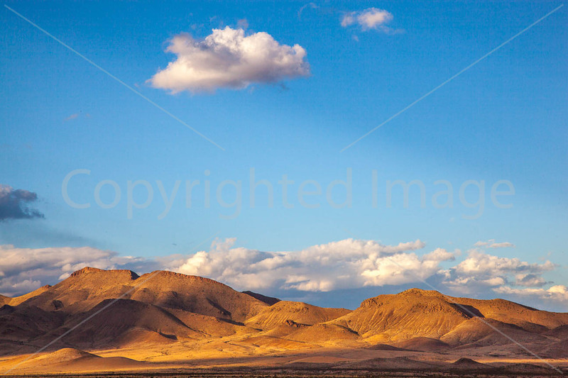 New Mexico - Sunset over mountains between Socorro &  Fort Craig Nat'l Historic Site - D6-C3-0332 - 72 ppi