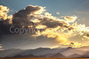 New Mexico - Sunset over mountains between Socorro &  Fort Craig Nat'l Historic Site - D6-C3-0333 - 72 ppi