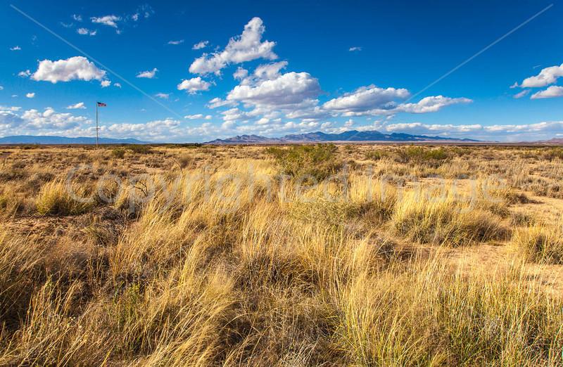 New Mexico - Fort Craig Nat'l Historic Site, south of Socorro - D6-C3-0279 - 72 ppi