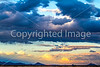 New Mexico - Sunset over mountains south of Socorro near Fort Craig - D6-C1-0088 - 72 ppi