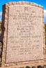 New Mexico - Battle of Valverde monument ear Fort Craig Nat'l Historic Site - D6-C3-0187 - 72 ppi