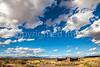 New Mexico - Cyclist at Fort Craig Nat'l Historic Site, south of Socorro - D6-C3-0294 - 72 ppi