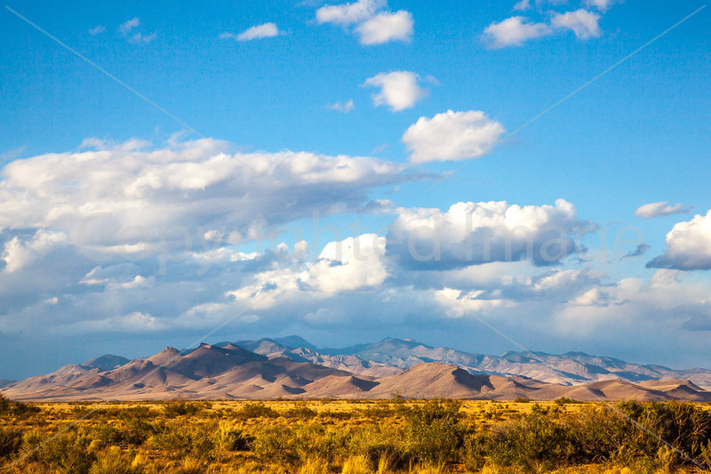 New Mexico - Sunset over mountains between Socorro &  Fort Craig Nat'l Historic Site - D6-C3-0307 - 72 ppi