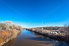 New Mexico - Battle of Valverde reenactment in 2012; army encampments along Rio Grande - 2-25-12-C1-0006 - 72 ppi