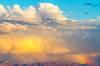 New Mexico - Sunset over mountains south of Socorro near Fort Craig - D6-C1-0092 - 72 ppi