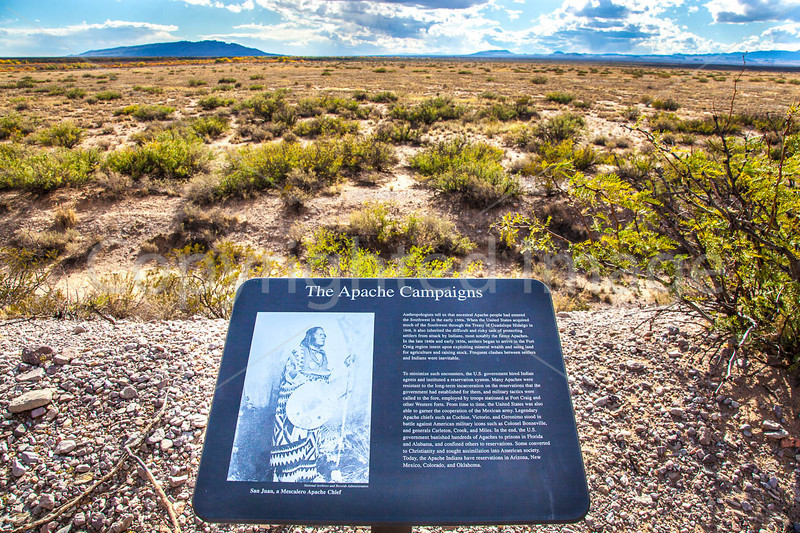New Mexico - Fort Craig Nat'l Historic Site, south of Socorro - D6-C3-0248 - 72 ppi