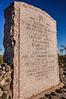 New Mexico - Battle of Valverde monument ear Fort Craig Nat'l Historic Site - C8b-'08-1202 - 72 ppi