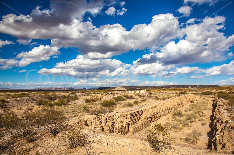 New Mexico - Fort Craig Nat'l Historic Site, south of Socorro - D6-C3-0244 - 72 ppi