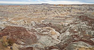 Badlands Vista  Angel Peak Recreation Area, New Mexico