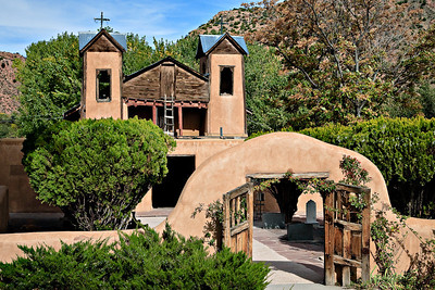 El Santuario de Chimayó - considered the Lourdes of America A Catholic chapel completed in 1816