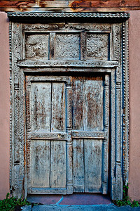 Santa Fe doorway - 2