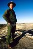 N nm salinas 16 - ORps - Ranger John Kuehnert at Abo Ruins at Salinas Pueblo Missions Nat'l Monument in New Mexico - 72 dpi