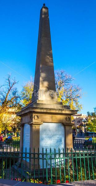 Civil War & Indian war monument, Santa Fe Plaza, NM-0006 - 72 ppi-3