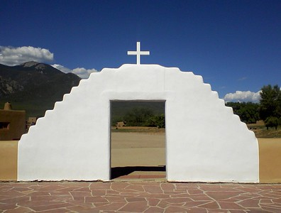 San Geronimo Church Gate