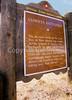 HIST nm sibley 10 - ORps - Historic marker in Glorieta Pass near Santa Fe - 72 dpi