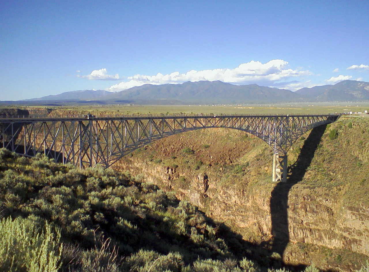 Bridge over the Rio Grande Gorge