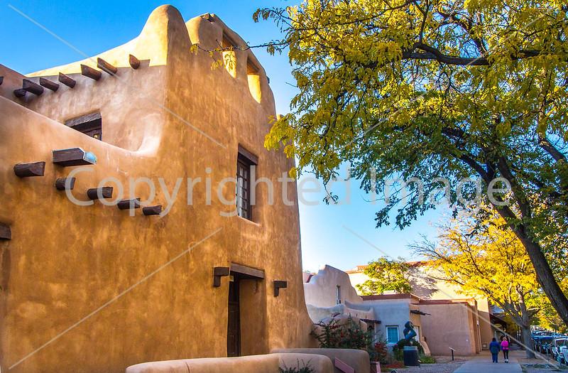 Santa Fe, New Mexico, architecture - D1-3 - C2 --0017 - 72 ppi