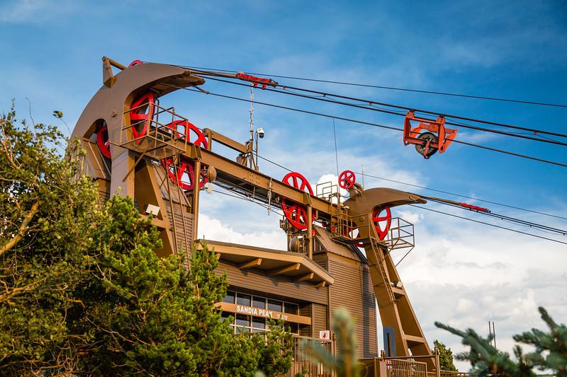 Sandia Peak Tramway Departures to Lower Boarding Area