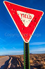 New Mexico - Yield sign - C2-0016 - 72 ppi