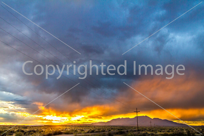 New Mexico - Intersection of US 60 & NM 47, west of Abo - D5-C2-0305 - 72 ppi