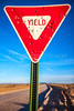 New Mexico - Yield sign - C2-0022 - 72 ppi