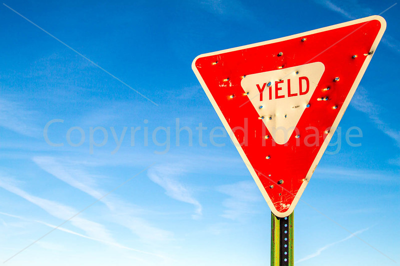 New Mexico - Yield sign - C3-0013 - 72 ppi