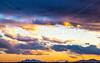 New Mexico - Sunset over Sevilleta National Wildlife Refuge - D5-C3-0261 - 72 ppi