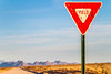 New Mexico - Yield sign - C3-0008 - 72 ppi