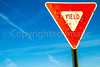 New Mexico - Yield sign - C3-0017 - 72 ppi