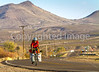 New Mexico - Southern Tier rider Randy Salvo on NM 187 north of Hatch - C1-2 - 72 ppi-3