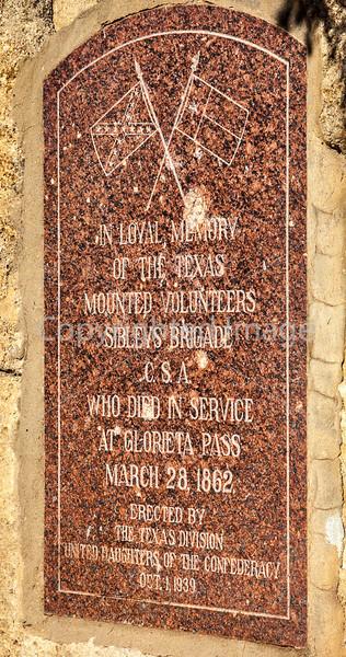 Battle monument in Glorieta Pass, NM - D1-3 - C3-0216 - 72 ppi