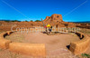 Cyclist at Pecos National Historical Park, NM - D1-3 - C2 --0218 - 72 ppi