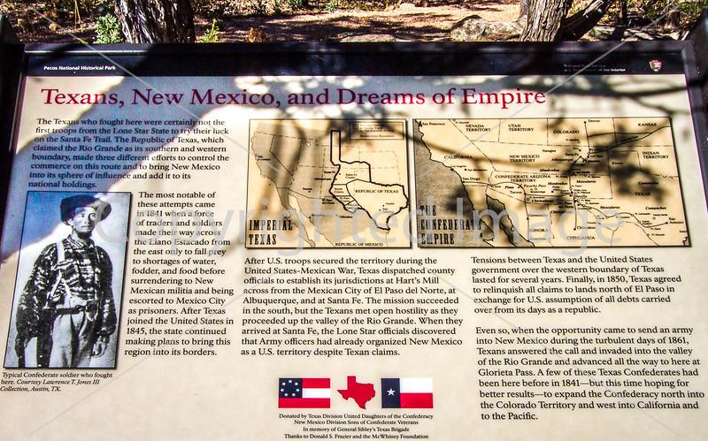 Battlefield trail, Glorieta Unit of Pecos Nat'l Historical Park, NM - D4-C2-0408 - 72 ppi