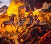 Visitor Center artwork at Pecos National Historical Park, NM - D1-3 - C2 --0125 - 72 ppi