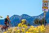 Cyclist on Santa Fe Trail near Pecos Nat'l Historical Park - D1-3 - C1-0092 - 72 ppi-3