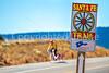 Cyclist on Santa Fe Trail near Pecos Nat'l Historical Park - D1-3 - C1-0132 - 72 ppi