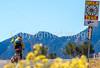 Cyclist on Santa Fe Trail near Pecos Nat'l Historical Park - D1-3 - C1-0095 - 72 ppi-2