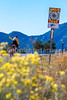 Cyclist on Santa Fe Trail near Pecos Nat'l Historical Park - D1-3 - C1-0100 - 72 ppi-4
